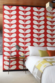Orla Kiely Giant Stem Wallpaper