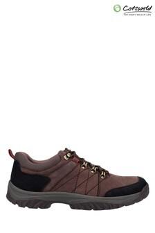 Cotswold Brown Toddington Lace-Up Shoes
