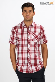 Regatta Red Deakin III Short Sleeve Shirt