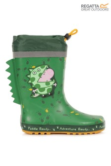 Regatta Green Peppa Pig™ Puddle Wellies