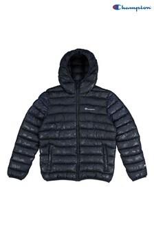 Champion Blue Hooded Jacket