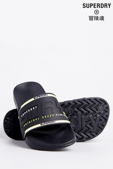 Superdry City Neon Pool Sliders