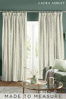 Laura Ashley Willow Leaf Hedgerow Made to Measure Curtains
