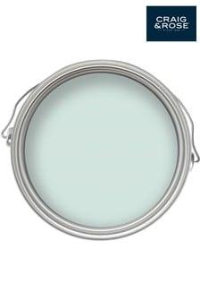 Chalky Emulsion Porcelain Blue 2.5L Paint by Craig & Rose