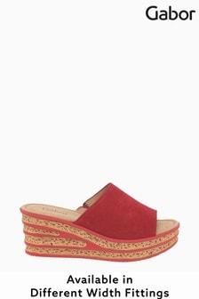 Gabor Trixie Rubin Suede Sandals