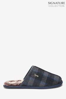 Modern Heritage Check Mules