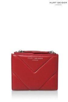 Kurt Geiger London Red Mini Purse