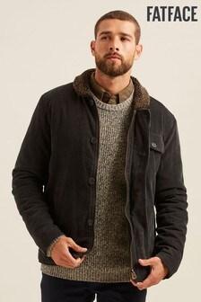 FatFace Grey Cord Deck Jacket