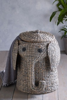 Elephant Laundry Basket