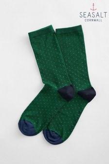 Seasalt Green Everyday Socks