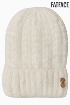 FatFace Natural Eyelash Yarn Beanie Hat