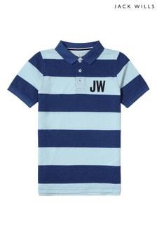 Jack Wills Boys Blue Polo