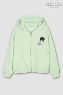 Mintie by Mint Velvet Apple Green Hoody