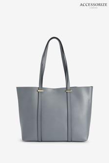 Accessorize Blue Ali Tote Bag