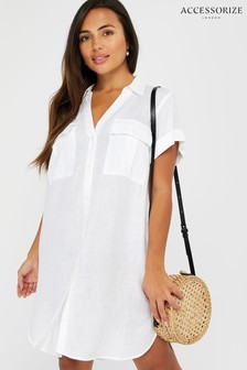 Accessorize White Beach Shirt
