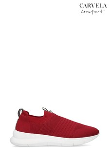 Carvela Comfort Cosmic Red Trainers