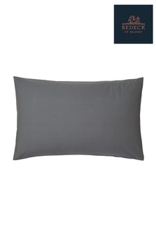 Bedeck of Belfast Plain Dye Cotton Percale Housewife Pillowcase