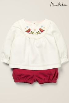 Boden Ivory Nostalgic Embroidered Play Set