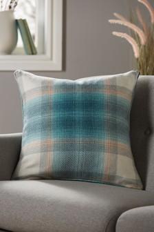 Serena Woven Check Cushion
