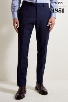 Spodnie o dopasowanym kroju z możliwością prania Moss 1851 Performance