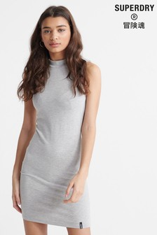 Superdry High Neck Bodycon Dress