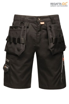 Regatta Black Execute Holster Shorts