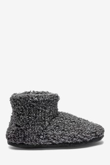 Fluffy Boot Slippers