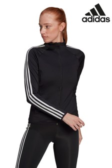 adidas D2M Linear Zip Through Jacket