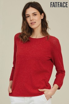 FatFace Red Eve Jumper