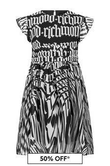 John Richmond Girls White Cotton Dress