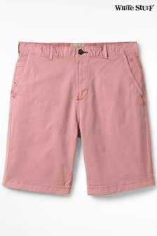 White Stuff Pink Portland Organic Chino Shorts