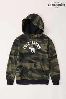 Abercrombie & Fitch Camouflage Logo Hoody