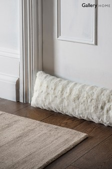 Stellan Faux Fur Draught Excluder by Gallery Direct