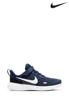Nike Run Revolution 5 Velcro Junior Trainers