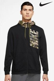 Nike Black Camo Training Hoodie