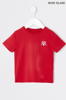 River Island Embroidery T-Shirt