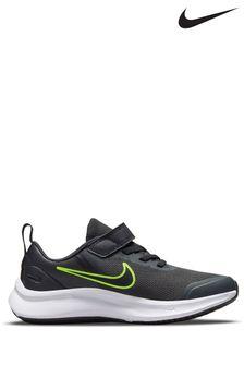 Nike Grey Star Runner 3 Junior Trainers
