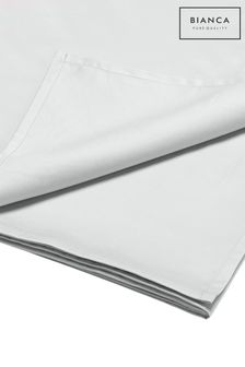 Luxury 800 Thread Count Cotton Sateen Flat Sheet by Bianca