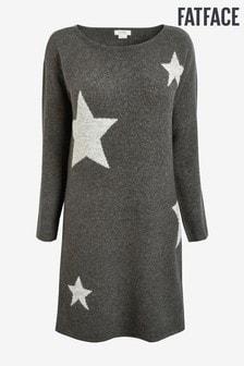 FatFace Grey Star Dress