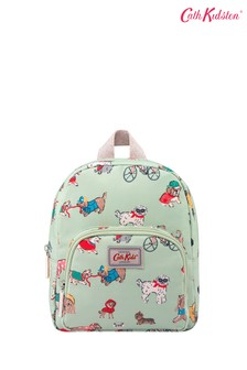 Cath Kidston Kids Green Small Park Dogs Mini Backpack