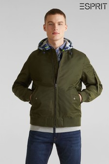 Esprit Green Bomber Jacket