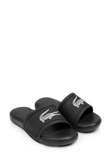 Kids Black And Silver Logo Sliders