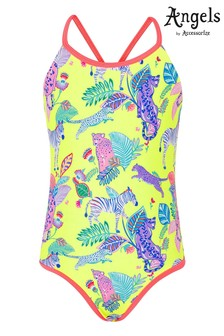 Accessorize Multi Recycled Wild Jungle Print Swimsuit