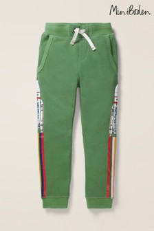 Mini Boden Green Out-Of-This-World Joggers