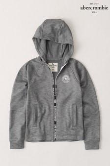 Abercrombie & Fitch Grey Logo Hoody