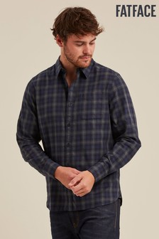 FatFace Green Bexley Check Shirt