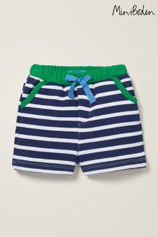 Boden Blue Essential Jersey Shorts