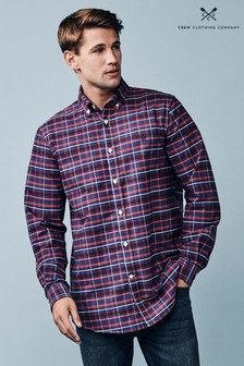 Crew Clothing Company Blue Ridgegate Classic Shirt