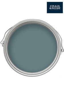Chalky Emulsion Saxe Blue 2.5L Paint by Craig & Rose
