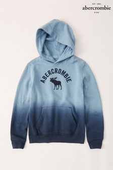 Abercrombie & Fitch Navy Dip Dye Hoody